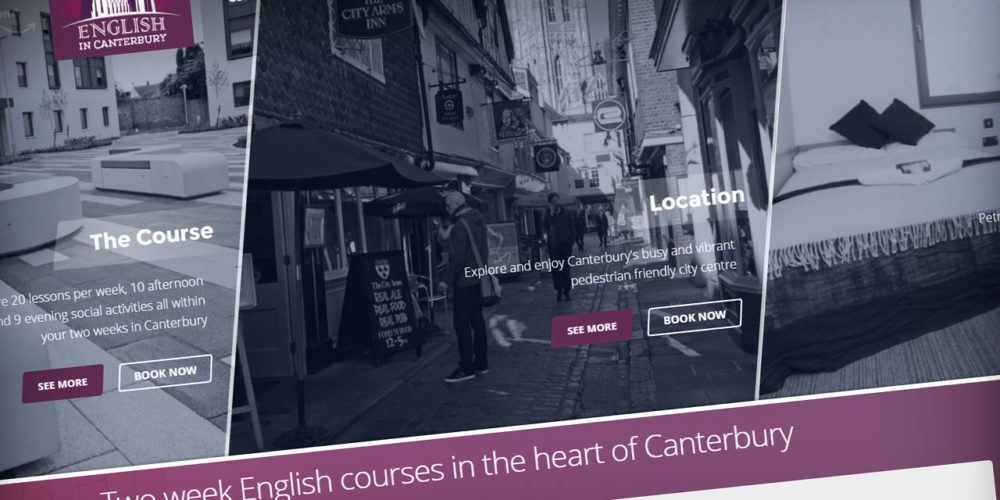 English in Canterbury web development