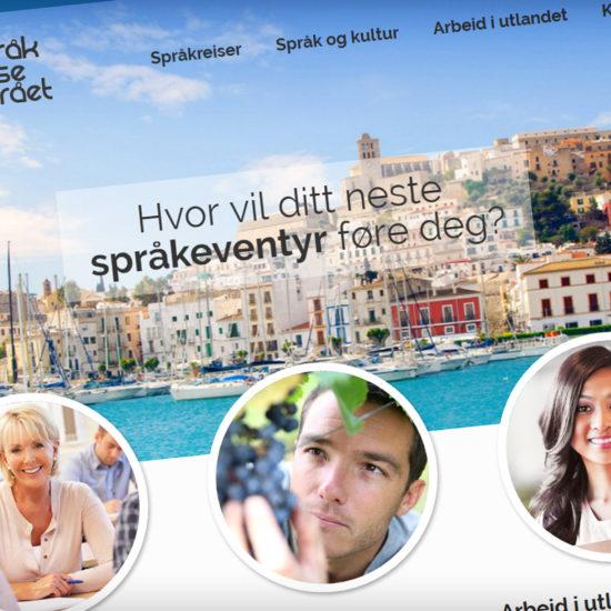 Sprakreisebyraet Home Page